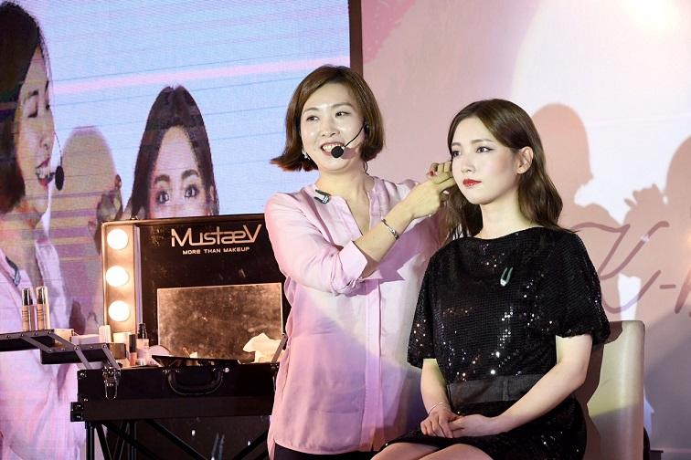 คุณซอล อึน makeup artist