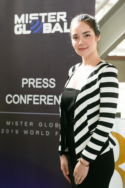 นางสาวณัฏฐ์สิชา อัคเซลการ์ด เจ้าภาพการจัดประกวด Mister Global 2019