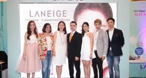 """ไอซ์-ปรีชญา ออร่าแรงรับต้นปี เผยเคล็ดลับสวยใสสไตล์เกาหลีในงาน  """"I'm Beauty Booster""""  by LANEIGE Clear–C Advanced Effector"""