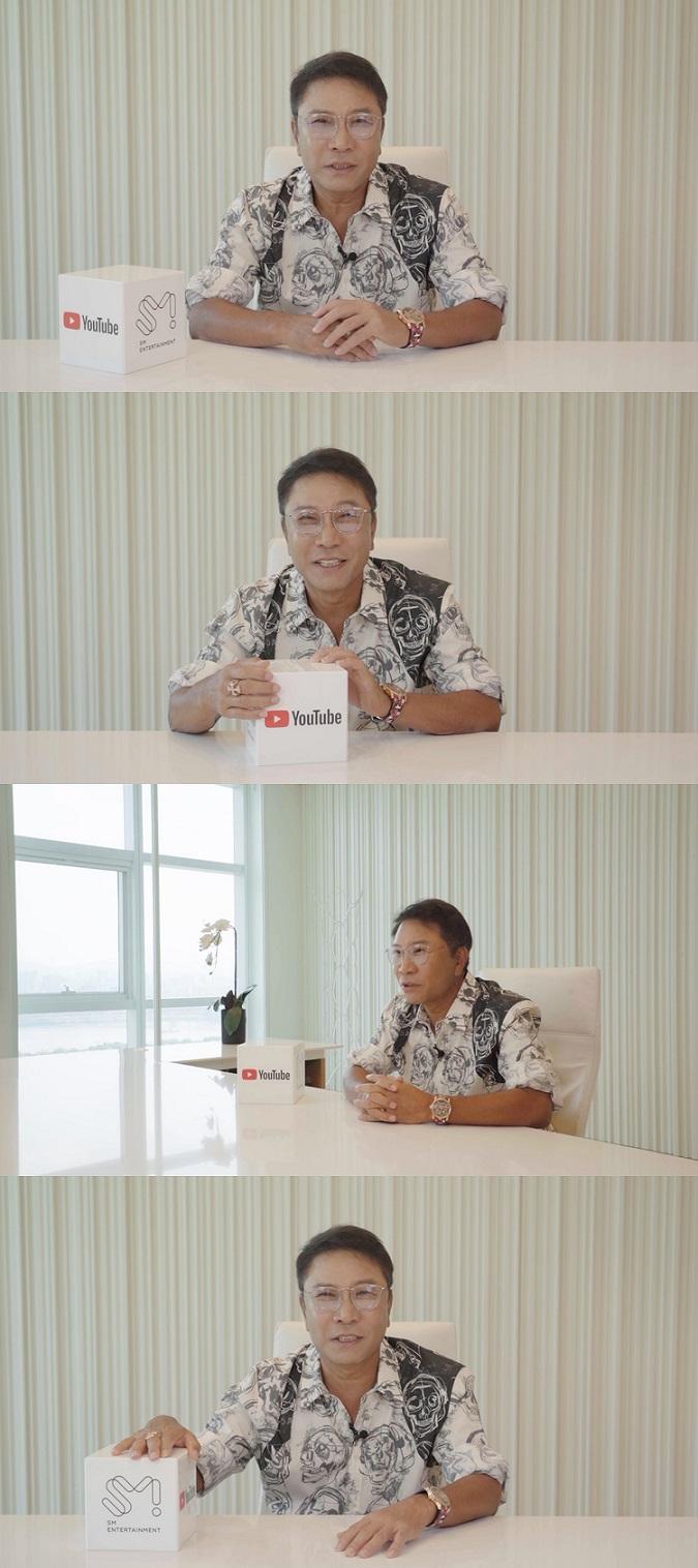 [ภาพตอนบรรยาย ณ งาน 'Google for Korea'] Lee Soo Man (อี ซูมาน) Executive Producer แห่ง SM