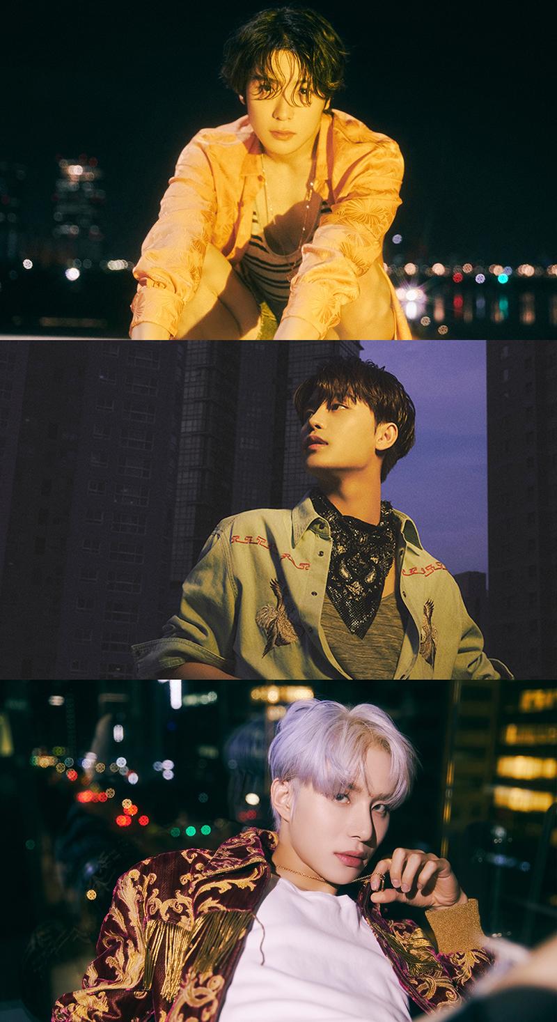 [ภาพทีเซอร์ของ JAEHYUN, TAEIL, JUNGWOO] NCT 127 - อัลบั้มเต็มชุดที่ 3 'Sticker'