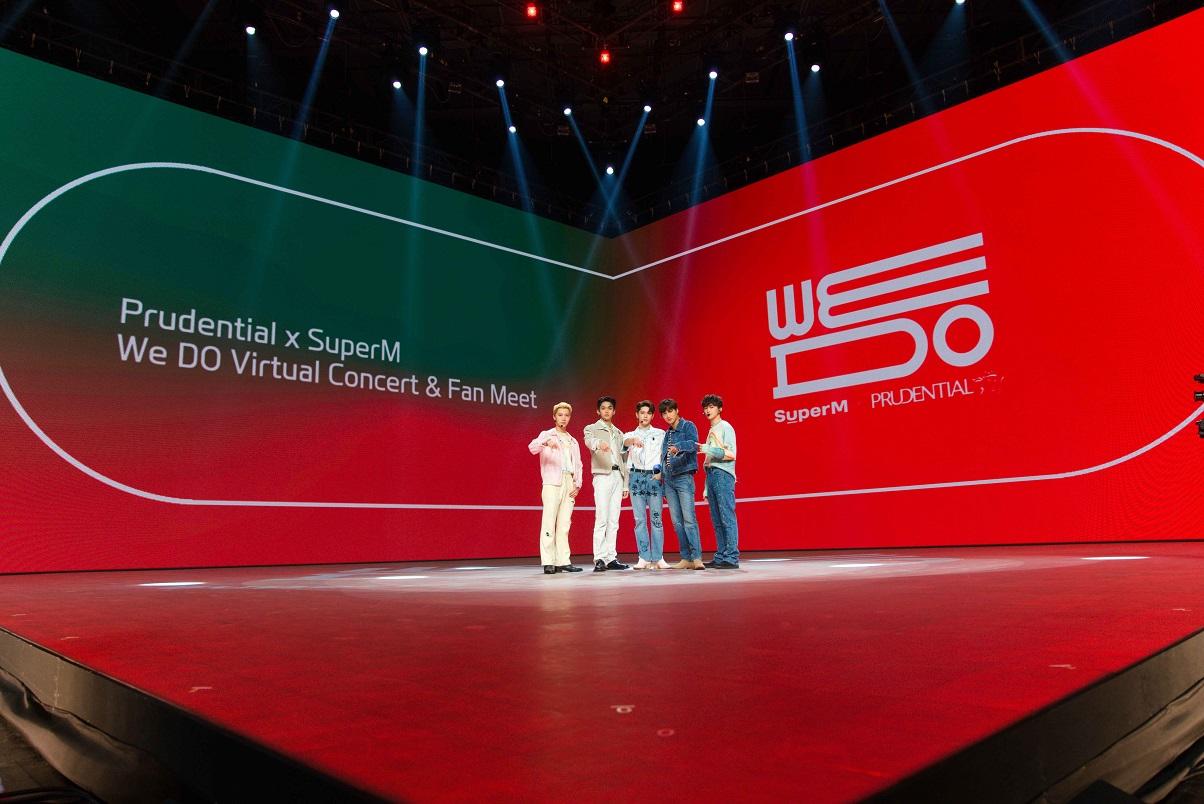 [ภาพที่ 1] Prudential x SuperM We DO Virtual Concert & Fan Meet