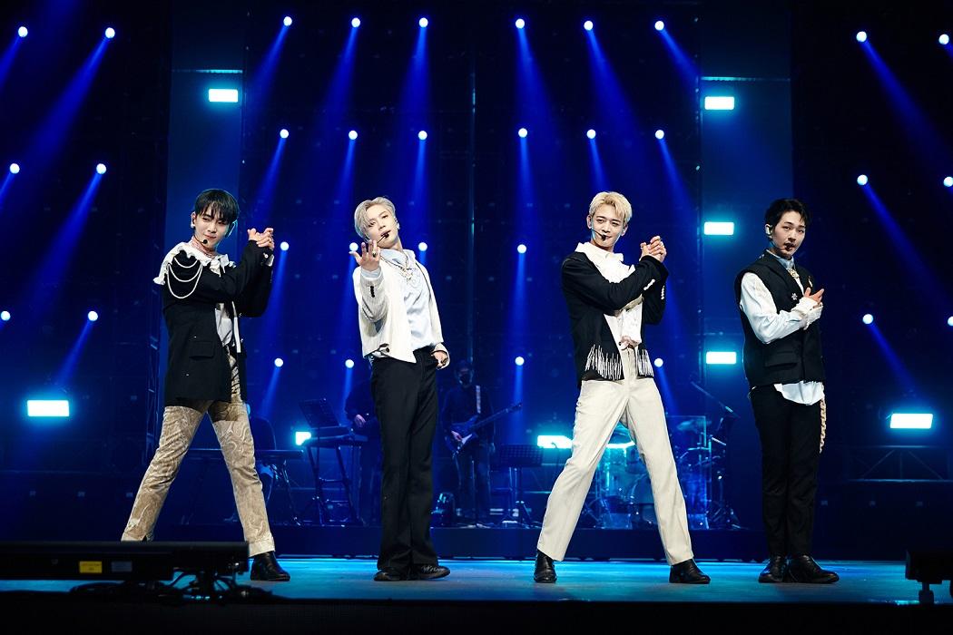 [ภาพที่ 3] คอนเสิร์ตออนไลน์ 'Beyond LIVE' ของ SHINee