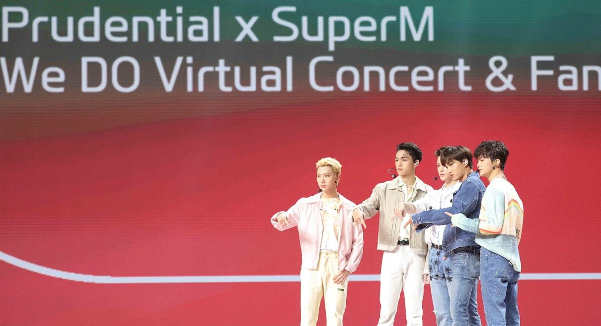 [ภาพที่ 9] Prudential x SuperM We DO Virtual Concert & Fan Meet