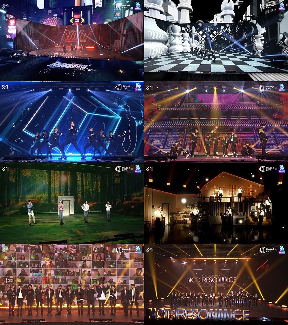 [ภาพแคปเจอร์] 'Beyond LIVE - NCT 'Global Wave''