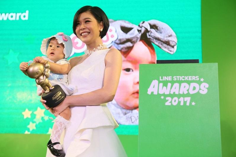 รางวัลสติกเกอร์ขวัญใจมหาชน (People's Choice Award) ได้แก่ สติกเกอร์ชุด PAO PAO (2)