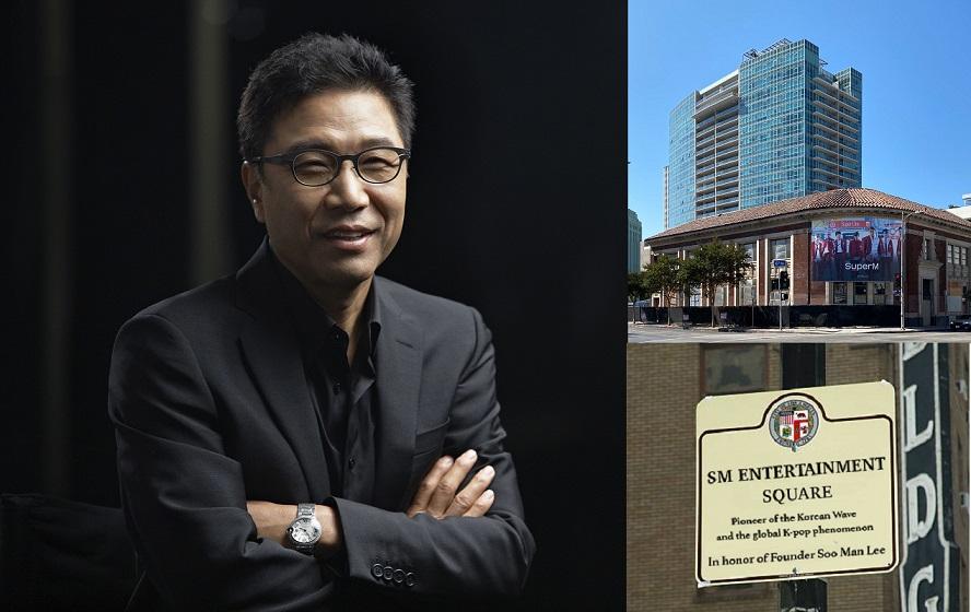 โปรดิวเซอร์กิตติมศักดิ์ 'อี ซูมาน' (Lee Soo-Man) แห่ง SM ENTERTAINMENT
