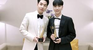 'เตนล์ ชิตพล' วง NCT และ 'HENRY'  คว้ารางวัลจากงาน Thailand Headlines Person of the year award 2016-2017