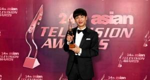"""""""กัน-อรรถพันธ์"""" คว้ารางวัลการันตีฝีมือในด้านการแสดง """"Best Actor in a Supporting Role""""  จากซีรีส์ """"The Gifted นักเรียนพลังกิฟต์""""  งาน """"Asian Television Awards 2019"""""""
