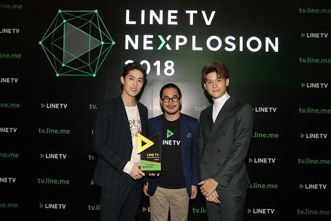 12 บรรยากาศการมอบรางวัล LINE TV AWARDS 2018