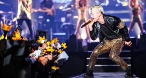 """โฟร์โนล็อค (4NOLOGUE) จัดเต็มกับโซโล่คอนเสิร์ตครั้งแรกในประเทศไทยของ """"แทยัง"""" ใน """"2015 TAEYANG WORLD TOUR [RISE] in Bangkok"""" ณ ธันเดอร์โดม เมืองทองธานี"""