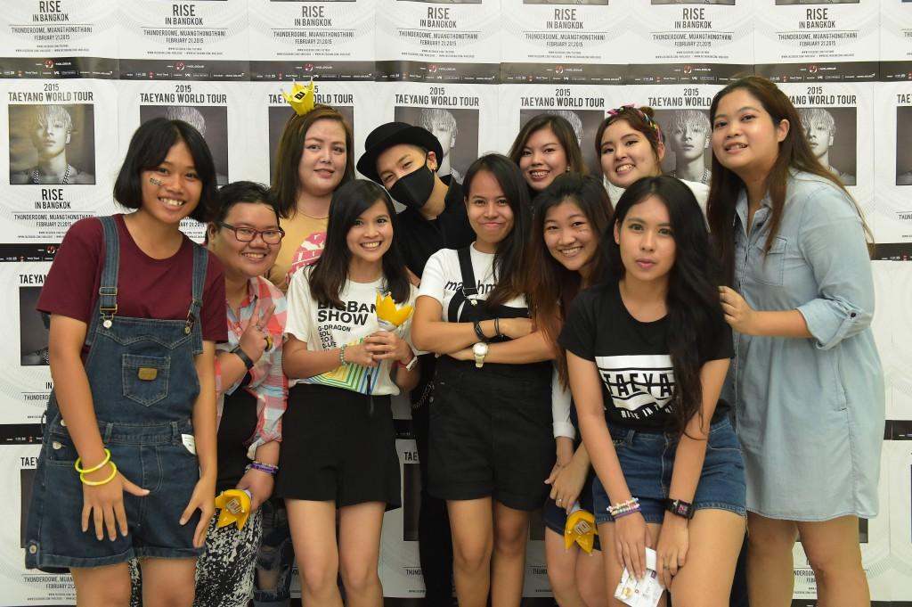 2015 TAEYANG WORLD TOUR [RISE] in Bangkok