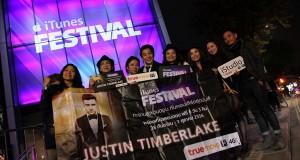 ทรูมูฟ เอช พา 6 ผู้โชคดี บินลัดฟ้าสู่ลอนดอน ร่วมมหกรรมคอนเสิร์ต iTunes Festival 2013 ชม Justin Timberlake ติดขอบเวที