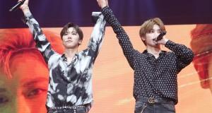 """ดูโอ้สุดฮอต 'TAEYONG' และ 'TEN' แห่ง 'NCT U' คว้าหัวใจแฟนคลับชาวไทยไปเต็ม ๆ  ในงานแฟนมีตติ้ง """"NCT U (TAEYONG x TEN) FAN MEETING in BANGKOK""""  พร้อมเปิดตัวเพลง """"Baby Don't Stop (Special Thai Version)"""""""