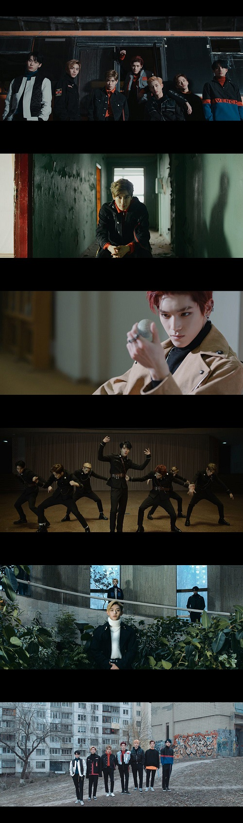 [Capture MV] NCT U 'BOSS'
