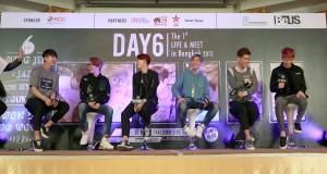 6 หนุ่ม 'DAY6' เยือนไทย  เตรียมโชว์สุดพิเศษในงาน  DAY6 The 1st Live & Meet in Bangkok 2015 12 ธ.ค. นี้