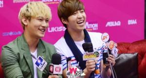 วง U-KISS ส่ง  AJ และ ซูฮยอน ร่วมแถลงข่าว 'KOREA MUSIC SENSATION VOL.1′