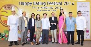 รอยัล พารากอน ฮอลล์เตรียมมอบความสุขให้นักชิมจัดงาน Happy Eating Festival2014 เทศกาลแห่งความสุขสนุกกับการกิน ระหว่างวันที่ 14 – 16 พฤศจิกายน ศกนี้