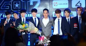 """7 หนุ่ม """"GOT7″ ตื่นเต้นที่จะได้""""แฟนปาร์ตี้"""" กับแฟนคลับชาวไทยในวันไวท์เดย์"""