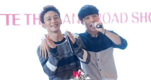 "EXO-L รวมพลังล้นศูนย์การค้าเอสพลานาด  เลย์ , เฉิน  ""LAY , CHEN"" แห่ง EXO แจกลายเซ็นต์ ในงาน  LOTTE THAILAND ROAD SHOW"