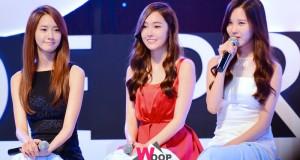 """ยุนอา , เจสสิก้า , ซอฮยอน Girls' Generation ใกล้ชิดเป็นกันเองกับแฟนคลับในงาน """"GiRL Thanks Party"""""""