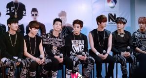 ประมวลภาพงานแถลงข่าว เปิดตัว  BTS (บังทันบอยส์)  บอยแบนด์หน้าใสสัญชาติเกาหลี  เอ็ม บี เค กรุ๊ป ร่วมกับ 7 สี คอนเสิร์ต จัดกิจกรรมให้แฟนๆไทยได้กรี๊ดกันเต็มที่