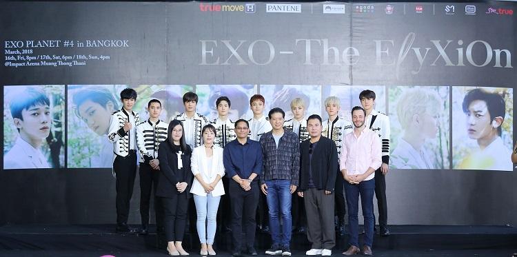 EXO & SM True Directors & Sponsors