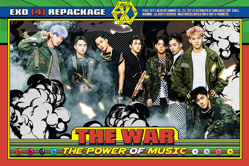 [EXO] The 4th Album Repackage  'THE WAR_ The Power of Music'