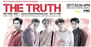 """ไอมี่ไทย เตรียมพาเด็กเกาะ 5 หนุ่ม เอฟทีไอส์แลนด์ กลับมาพบพรีมาดอนน่าไทย  ในคอนเสิร์ต """"2017 FTISLAND LIVE (THE TRUTH) IN BANGKOK""""  เปิดขายบัตร 7 มกราคมนี้!!!"""