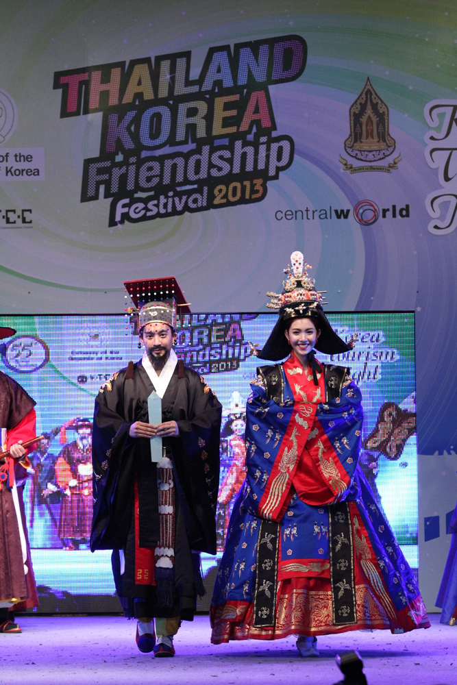 Fashionshow hanbok highlight