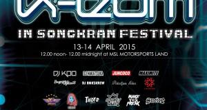 2015 K-EDM IN SONGKRAN FESTIVAL  April 13-14, 2015 at MotorSports Land (แดนเนรมิตร)