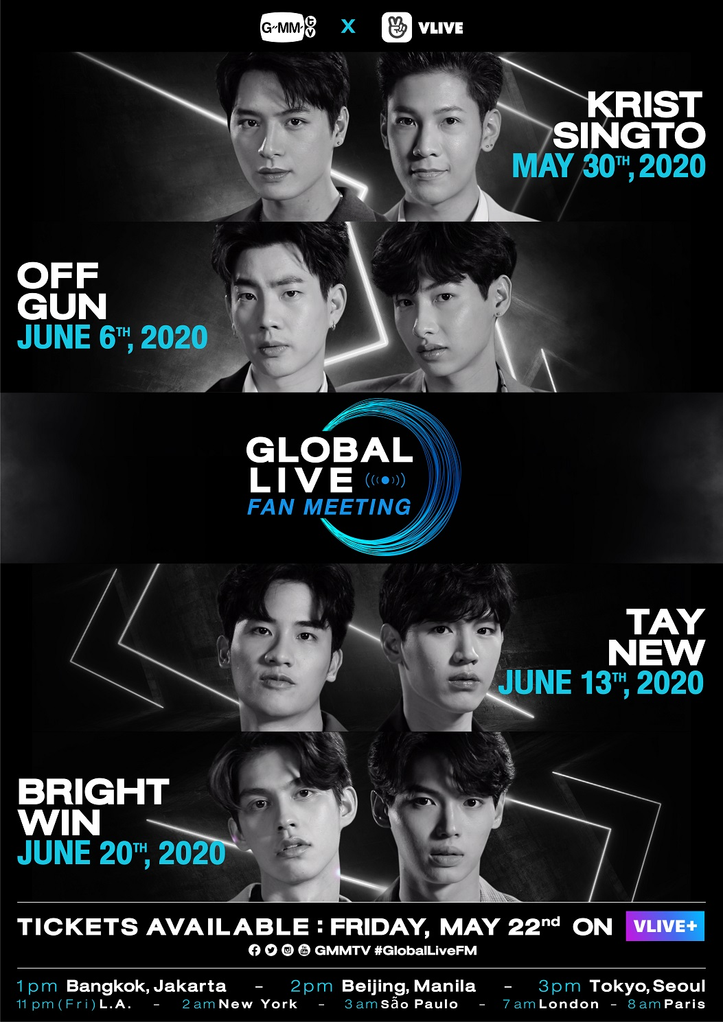 Global Live Fan Meeting