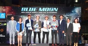 งานแถลงข่าว 'น้ำดื่มตราช้าง Presents 2013 CNBLUE BLUE MOON CONCERT'