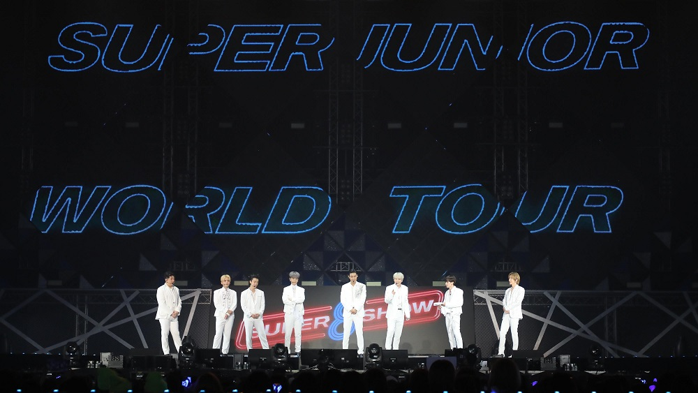 [Image 1] 'SUPER JUNIOR WORLD TOUR - SUPER SHOW 8  INFINITE TIME' in BANGKOK