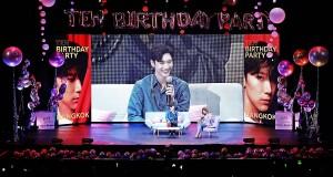 """'เตนล์' ร่วมฉลองปาร์ตี้วันเกิดกับแฟนชาวไทยใน """"2019 TEN BIRTHDAY PARTY in BANGKOK""""  พร้อมสร้างความทรงจำที่ดี ในบรรยากาศสุดอบอุ่น"""