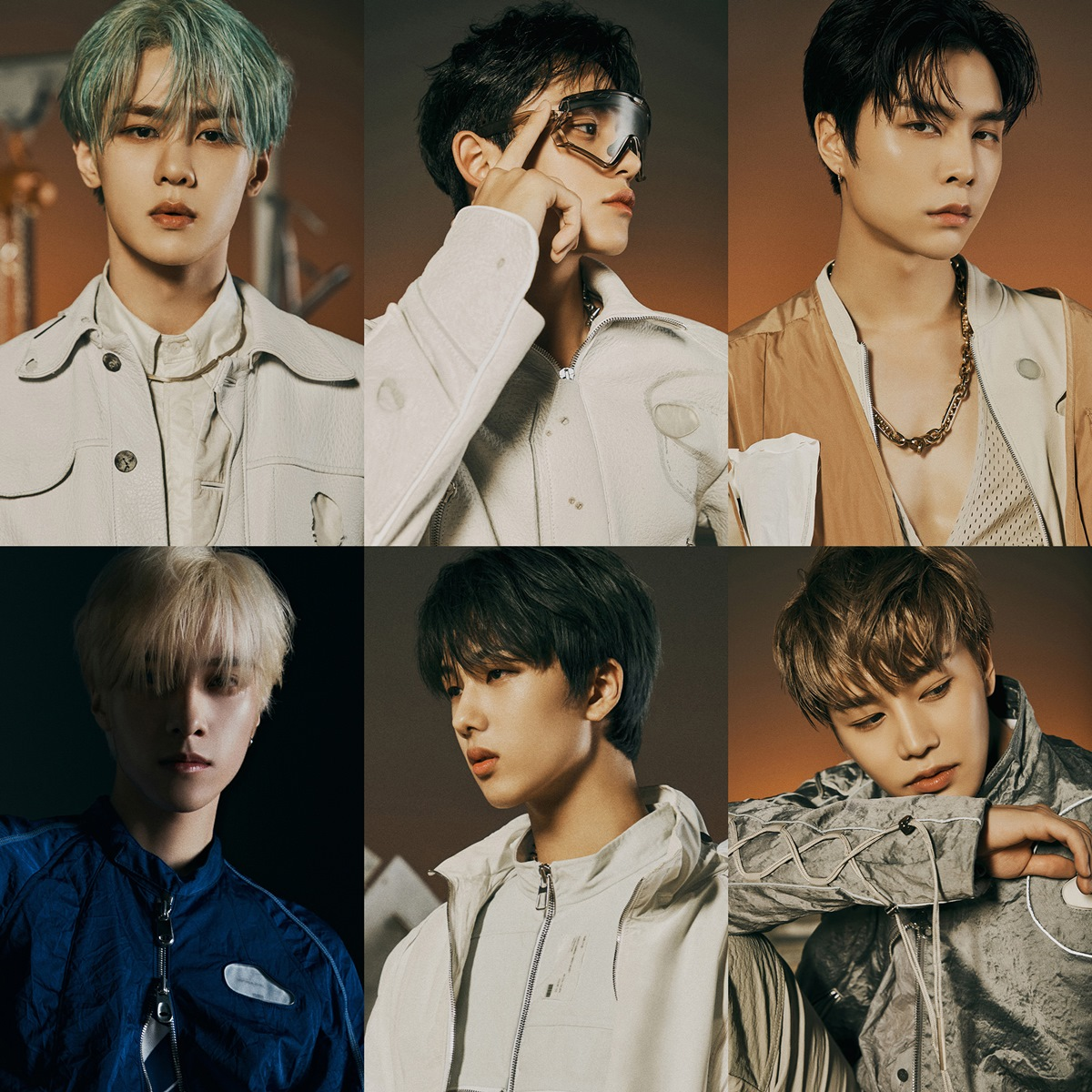 Image 2 [NCT – The 2nd Album RESONANCE Pt.1]  แถวบน (KUN, LUCAS, JOHNNY) แถวล่าง (HENDERY, JISUNG, TAEIL)