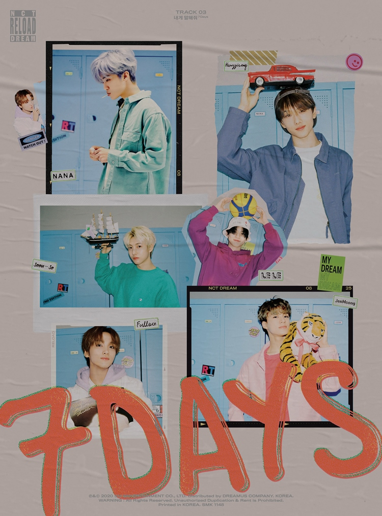 [Image 6] NCT DREAM - Album 'Reload'_Song '7 Days'