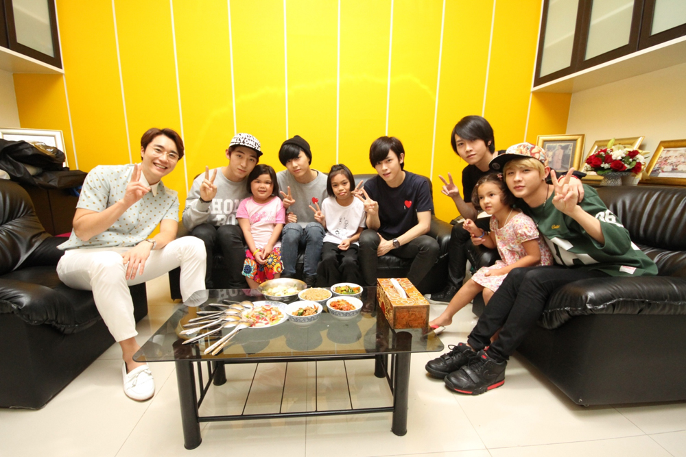 Josungmo and the boss with childrea