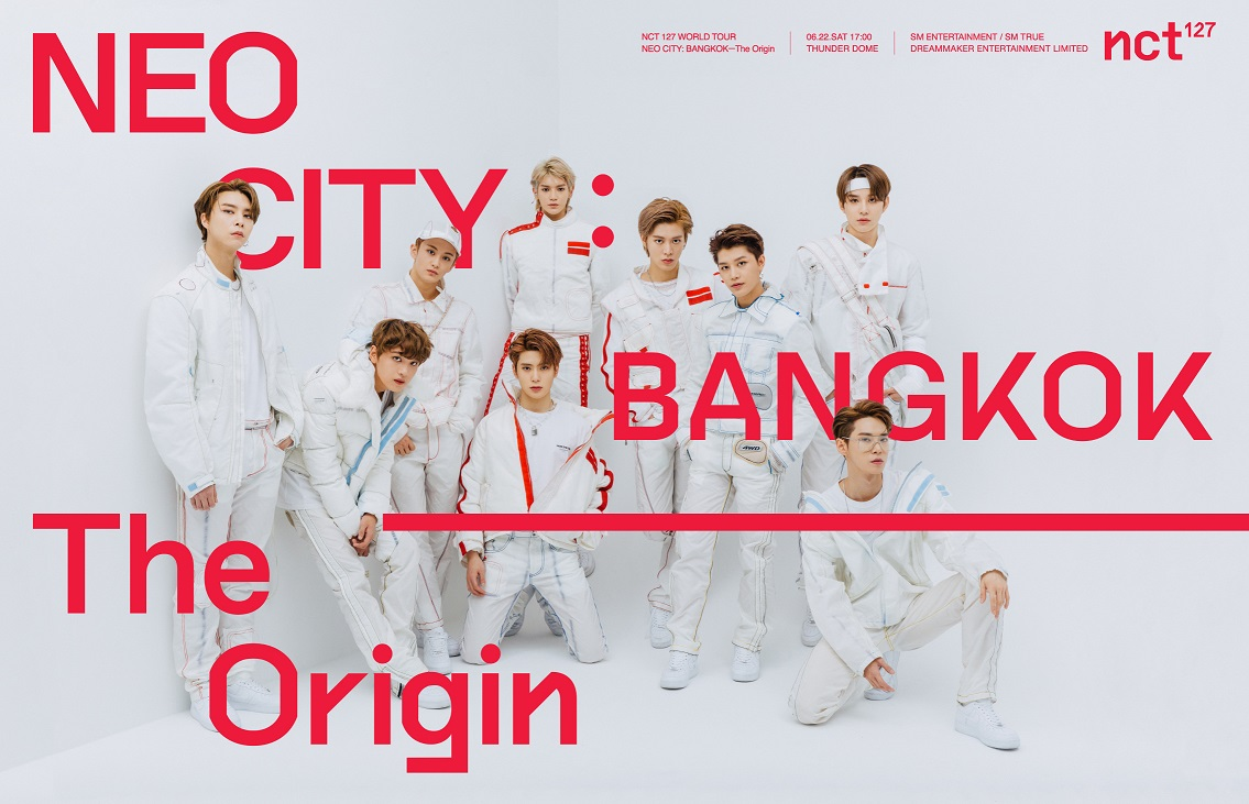 [Key Visual 1] NCT 127 WORLD TOUR 'NEO CITY  BANGKOK– The Origin'