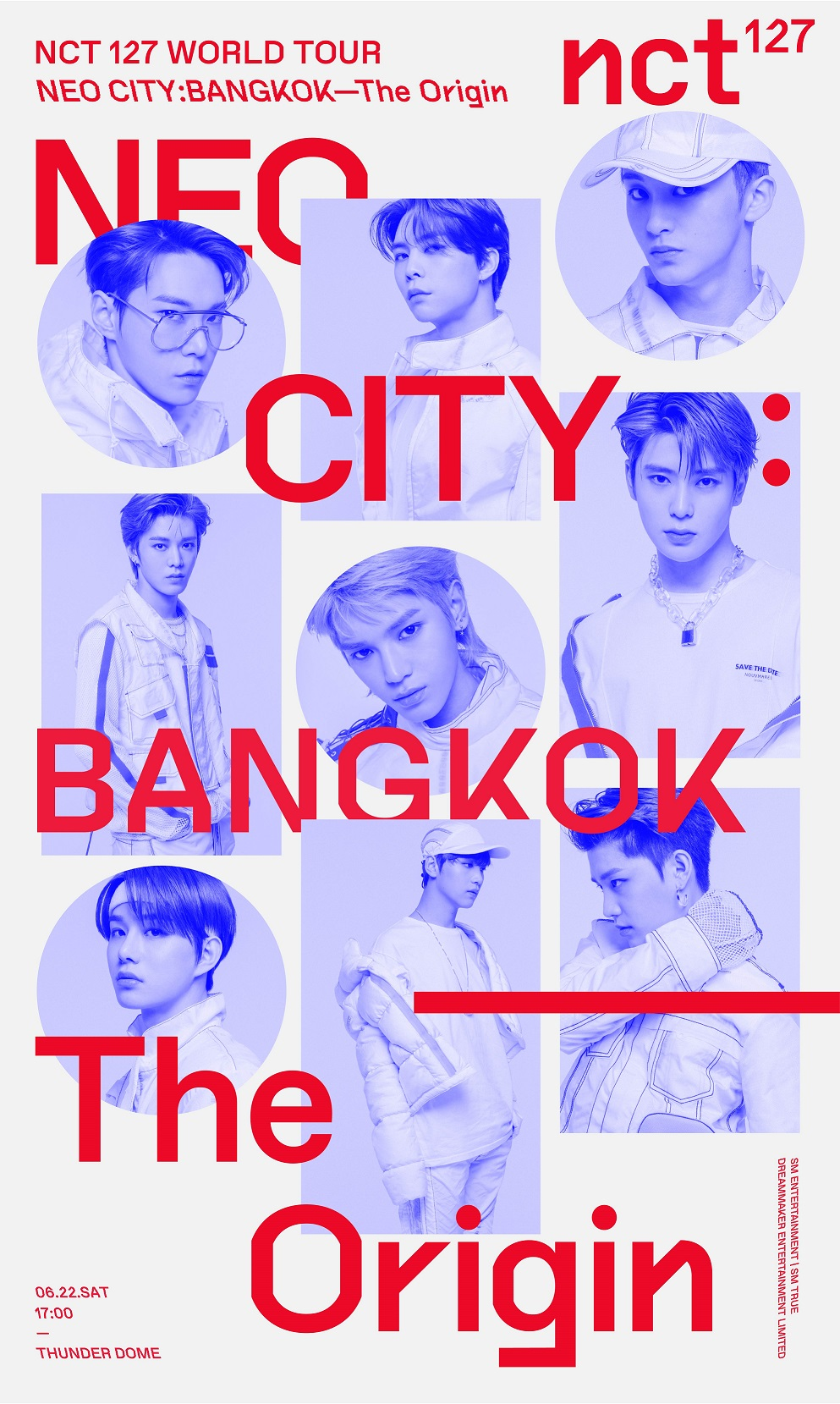 [Key Visual 2] NCT 127 WORLD TOUR 'NEO CITY  BANGKOK– The Origin'