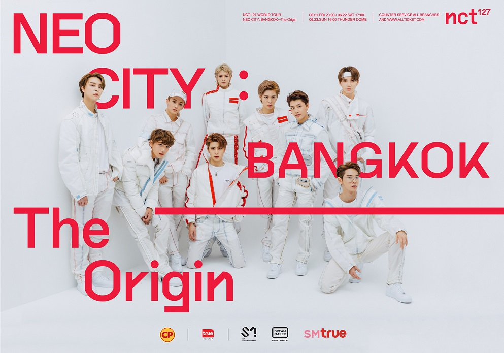[Key Visual 3 show] NCT 127 WORLD TOUR 'NEO CITY  BANGKOK– The Origin'