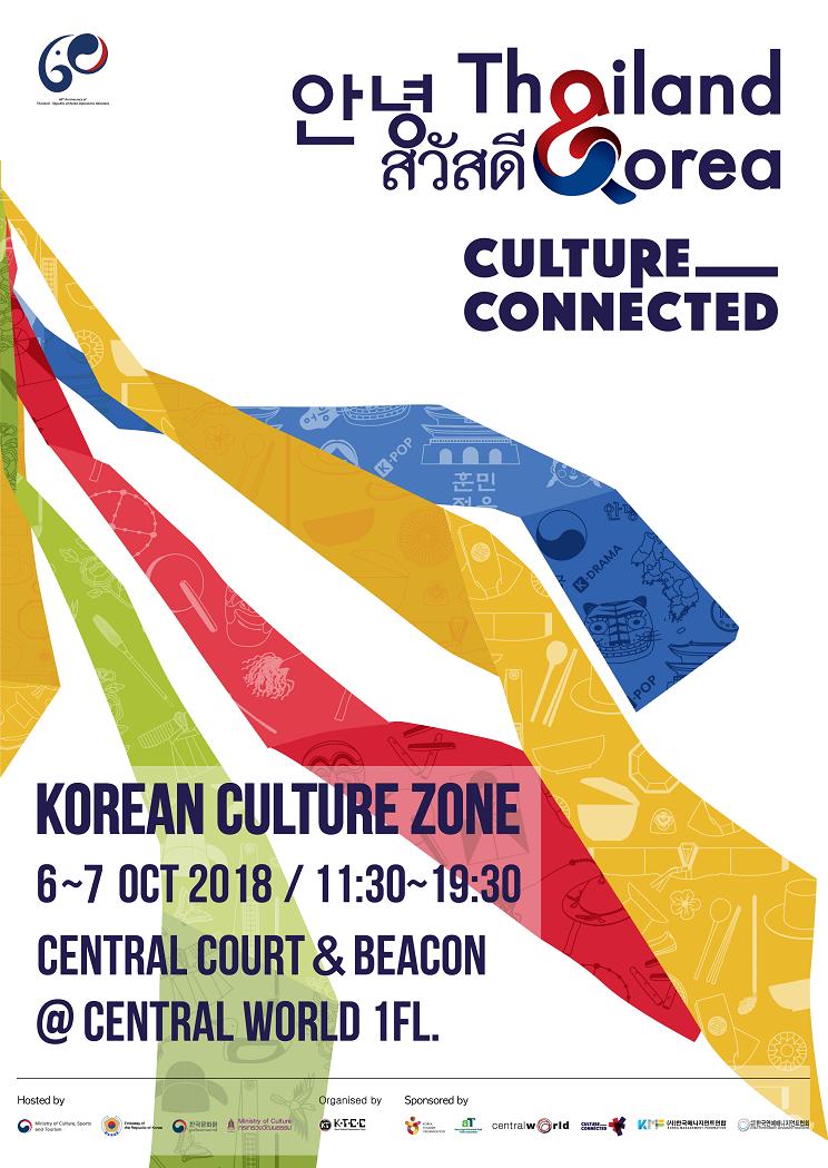 Korean Culture Zone - Poster