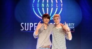 ลูน่าฟลาย (LUNAFLY) โชว์ดนตรีเต็มอิ่ม เรียกเสียงหัวเราะ อบอุ่น ในงาน LUNAFLY Super Hero Charity In Bangkok 2014