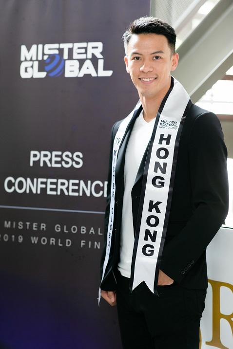 Mister Global Hong Kong 2019 (King Lok Cheng)