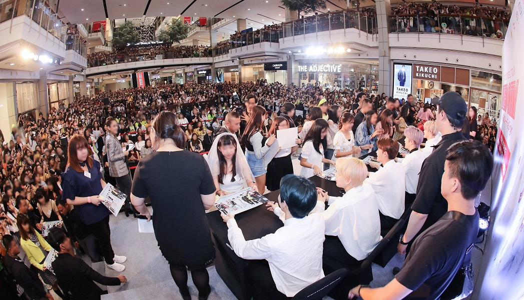 NCT 127 FANSIGNING EVENT in BANGKOK
