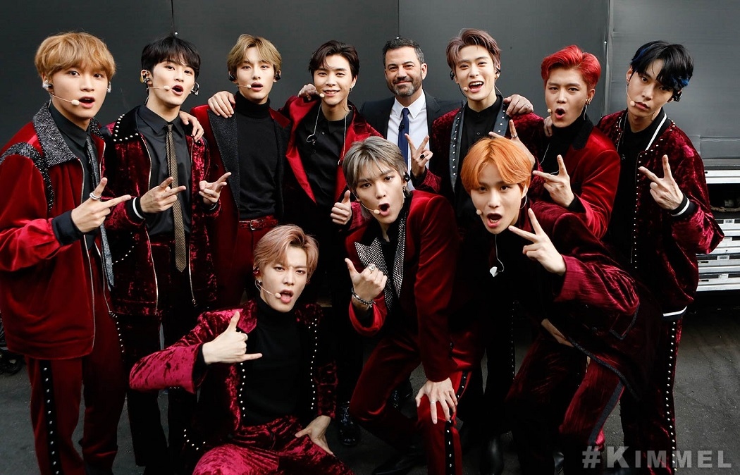 NCT 127 at Jimmy Kimmel Live! (1)