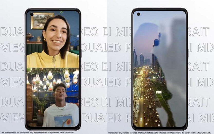 OPPO Reno5 Series 5G_Twins 3D Mapping (1)