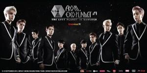 """เอสเอ็ม ทรู จัดให้ กับคอนเสิร์ตเต็มรูปแบบครั้งแรกของบอยแบนด์ดาวรุ่งที่หยุดทุกความเคลื่อนไหว !!! """"True Move H presents EXO FROM. EXOPLANET #1 – THE LOST PLANET – in BANGKOK"""""""