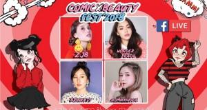 BEAUTRIUM จัดงาน COMIC BEAUTY FEST'S 2018 เอาใจคนรักการ์ตูน พร้อม Live สด! จาก Blogger ชื่อดัง