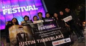 จัดจริง แจกจริง ทรูมูฟ เอช พา 6 ผู้โชคดี บินลัดฟ้าสู่ลอนดอน ร่วมคอนเสิร์ต iTunes Festival 2013 พร้อมชมศิลปินสุดฮอต Justin Timberlake